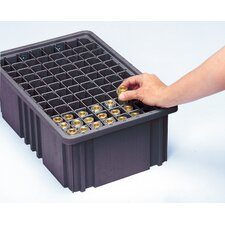 Conductive Dividable Grid Storage Container Long Dividers for DG93120CO (Set of 6)