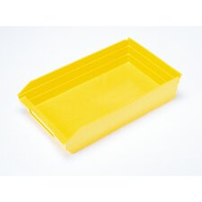 "Economy Shelf Bin (4"" H x 11 1/8"" W x 17 7/8"" D) (Set of 8)"