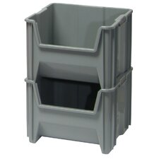 Heavy Duty Giant Stack Container with Optional Window and Label