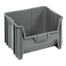 Heavy Duty Giant Stack Container with Label Holder (Set of 3)