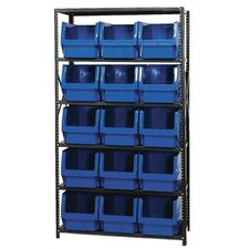 Small 5 Shelf Giant Open Hopper Magnum Storage Unit