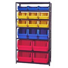 6 Shelf Giant Open Hopper Magnum Storage Unit