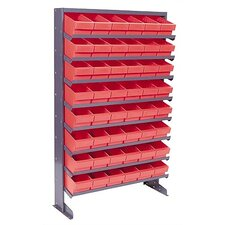 <strong>Quantum Storage</strong> Single Sided Pick Rack Storage Systems with Various Euro Bins