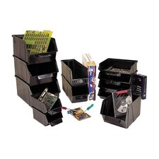 "Conductive Stack and Lock Bin (2"" H x 3 7/8"" W x 4"" D)"