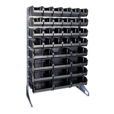 <strong>Quantum Storage</strong> Conductive Single Sided Steel Rail Rack