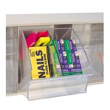 Divider for 3 Compartment Clear Tip Out Bin