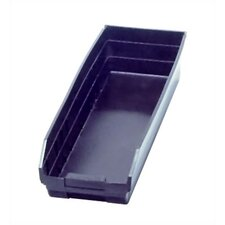 "Recycled Shelf Bin (4"" H x 6 5/8"" W x 23 5/8"" D) (Set of 8)"