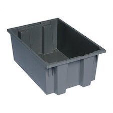 """Stack and Nest Storage Tote (8"""" H x 13 1/2"""" W x 19 1/2"""" D) (Set of 6)"""
