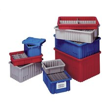 "Dividable Grid Storage Containers (3 1/2"" H x 10 7/8"" W x 16 1/2"" D) (Set of 12)"