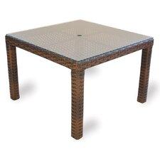 Contempo Square Umbrella Dining Table