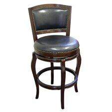"<strong>Boraam Industries Inc</strong> Harris 29"" Swivel Bar Stool with Cushion"