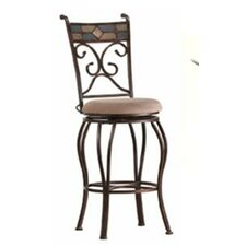 "<strong>Boraam Industries Inc</strong> 24"" Swivel Bar Stool with Cushion"