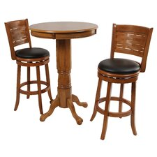 Sumatra 3 Piece Pub Table Set