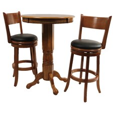 <strong>Boraam Industries Inc</strong> Palmetto 3 Piece Pub Table Set