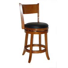 "Palmetto 24"" Counter Stool in Fruitwood"