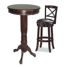 <strong>Boraam Industries Inc</strong> Georgia 3 Piece Pub Table Set