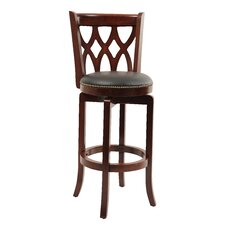 Cathedral Swivel Bar Stool