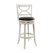 "Florence 29"" Bar Stool in White"