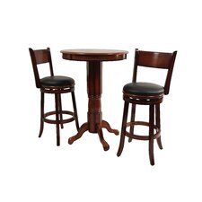 Palmetto 3 Piece Pub Set in Brandy