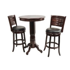Sumatra Pub Table with Optional Stools