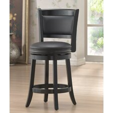 "Augusta 24"" Counter Stool in Black"
