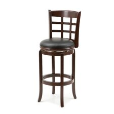 "29"" Kyoto Swivel Stool in Light Cherry"