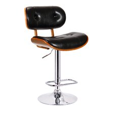 Smuk Adjustable Swivel Bar Stool