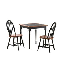 <strong>Boraam Industries Inc</strong> 3 Piece Square Dining Set