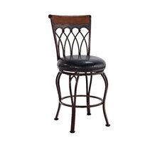 "Vin  24"" Swivel Bar Stool"