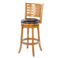 "Sumatra 29"" Swivel Bar Stool with Cushion"