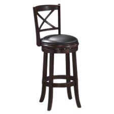 "Georgia 29"" Swivel Bar Stool with Cushion"