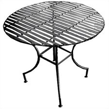 Pangaea Easy to Assemble Iron Round Dining Table