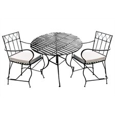 <strong>Pangaea Home and Garden</strong> 3 Piece Dining Set