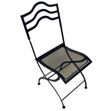 <strong>Pangaea Home and Garden</strong> Bistro Folding Dining Side Chairs (Set of 2)