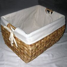 Seagrass Natural Storage Basket With Liner