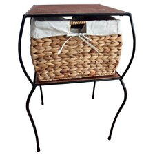 Pangaea Rattan Side Table