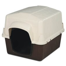Petbarn II Medium Dog House in Coffee Grounds Brown
