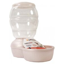 Replendish Pet Feeder with Microban in Pearl White