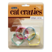 4 Piece Cat Crazies Unique Cat Toy