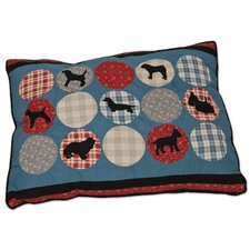 Rover Quilted Dog Pillow