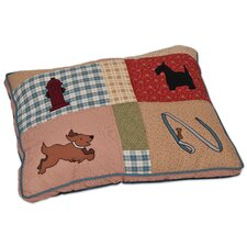 Lucky Quilted Dog Pillow (Set of 4)