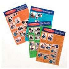 <strong>FitBall</strong> Wall Chart Package (Set of 4)