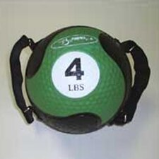 "<strong>FitBall</strong> Medballs With Straps 7.75"" in Green"