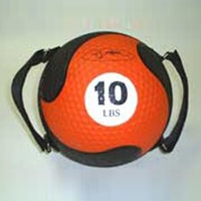 "<strong>FitBall</strong> Medballs With Straps 9"" in Orange"