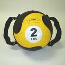 "<strong>FitBall</strong> Medballs 7.75"" in Yellow"