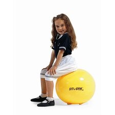 "<strong>Gymnic</strong> 18"" Sit 'n' Gym Ball in Yellow"