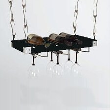 <strong>Concept Housewares</strong> 6 Bottle Hanging Wine Rack