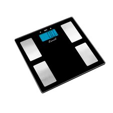 Glass Body Fat & Body Water Muscle Mass Bathroom Scale