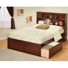 <strong>Atlantic Furniture</strong> Urban Lifestyle Newport Bookcase Bed with Bed Drawers Set