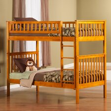 Woodland Twin Over Twin Standard Bunk Bed